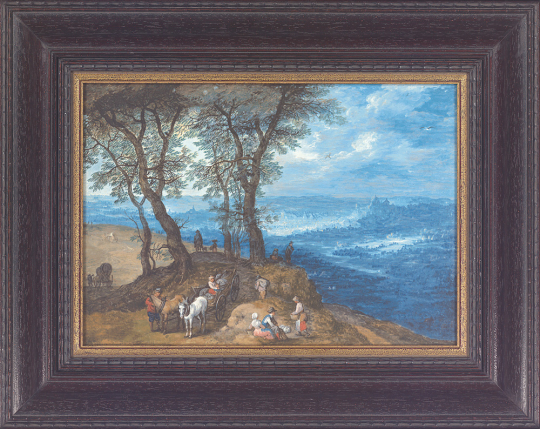 Rückkehr vom Markt. Jan Brueghel der Ältere (1568-1625).