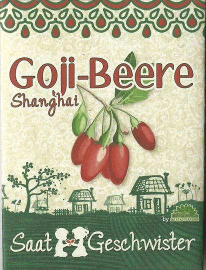 Saatgut Goji-Beere »Shanghai« (Lycium barbarum).
