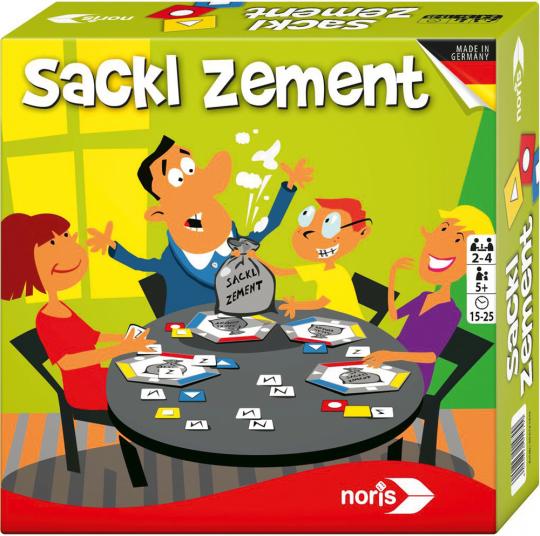 Sackl Zement. Ein Merkspiel für die ganze Familie.