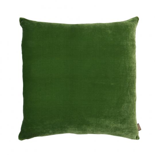 Samtkissen grün.