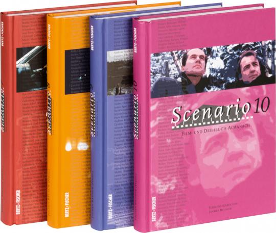 Scenario. Film- und Drehbuch-Almanach 7-10, 4 Bände.