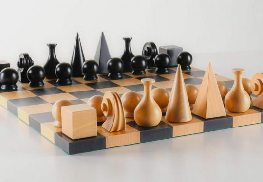 Schachfigurenset »Man Ray«.