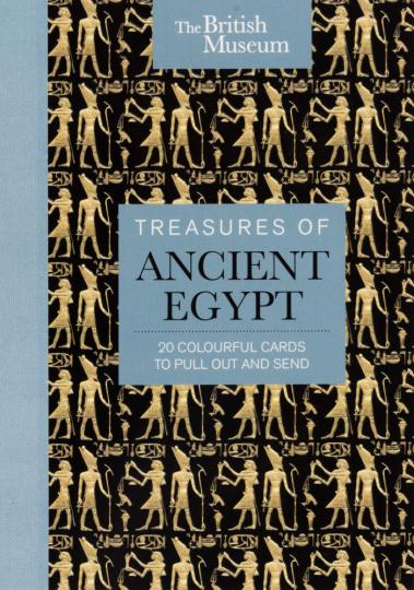 Schätze aus dem Alten Ägypten. Postkartenset mit 20 Motiven.