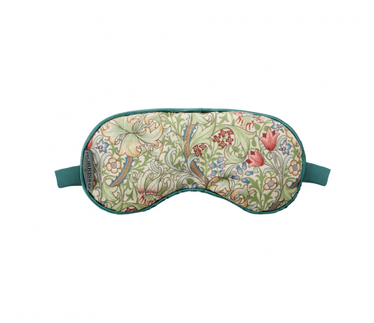 Schlafmaske »William Morris«, grün.