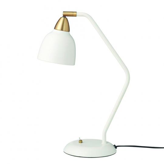 Schreibtischlampe im Retro-Design.