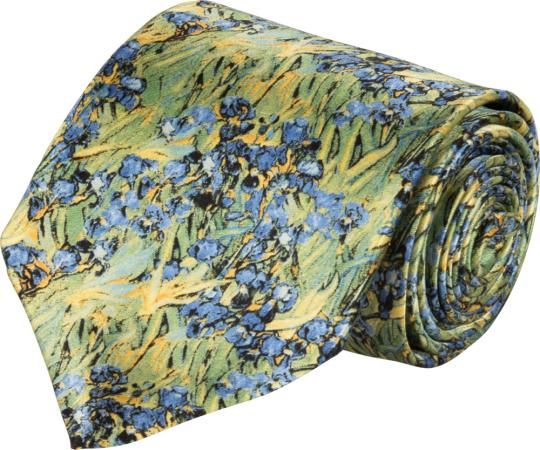 Seidenkrawatte Vincent van Gogh «Iris«.