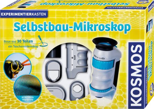 Selbstbau-Mikroskop.