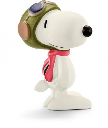 Snoopy Pilot. Schleich Figur.