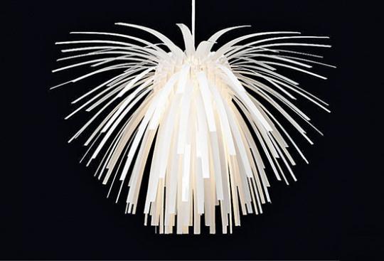 »Snowflower« Designerlampe.