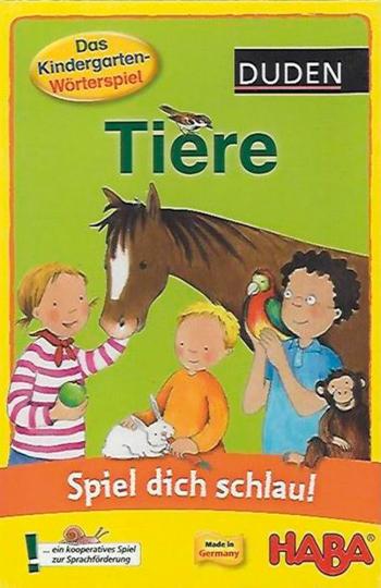 Spiel dich schlau! Kindergarten-Wörterspiel. Tiere.