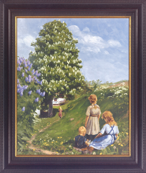 Spielende Kinder. Hans Andersen Brendekilde (1857-1920).