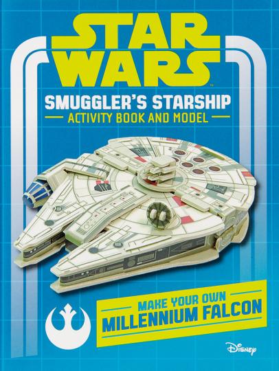 Star Wars. Millennium Falke. Modell & Buch.
