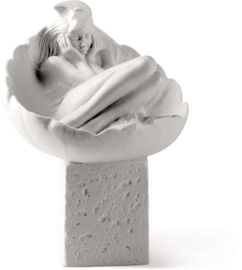 Sternzeichen Porzellanfigur »Krebs, Frau«.