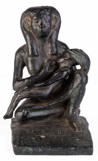 Stillende Mutter, Ägypten, Mittleres Reich.