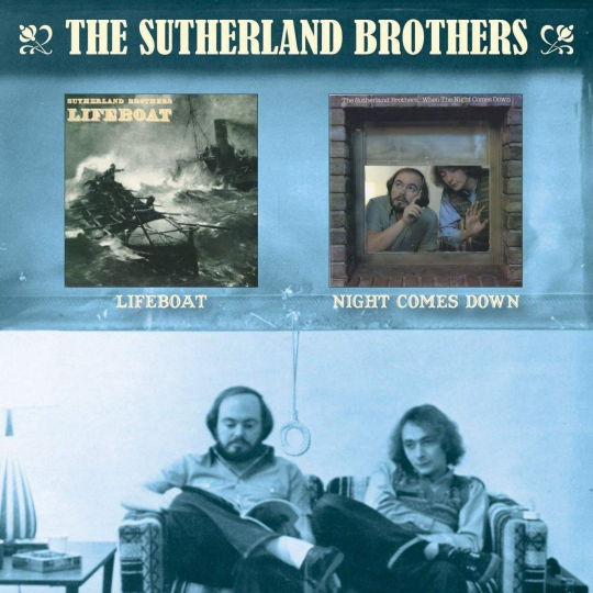 Sutherland Brothers. Lifeboat / Night Comes Down. CD.