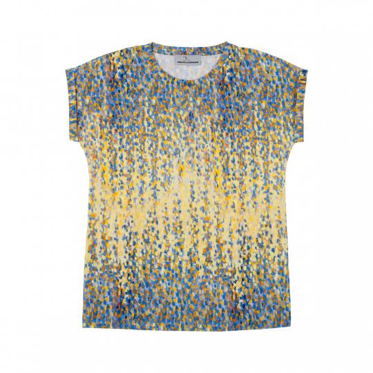 Kunst-Shirt »Signacs Hafen bei Sonnenuntergang«.