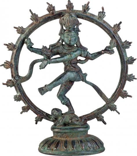 Tanzender Gott Shiva. Indien, ca. 1050 n. Chr.