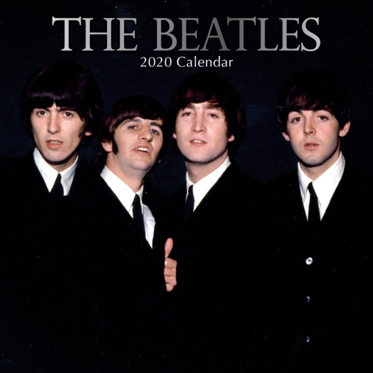 The Beatles Wandkalender 2020.