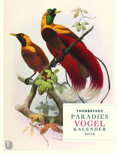 Thorbeckes Paradiesvogel Kalender 2019.