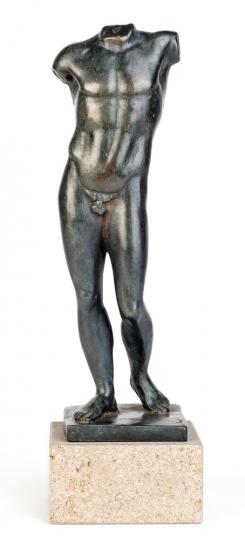 Torso des Poseidon oder Apoll, Griechenland 470 v.Chr.