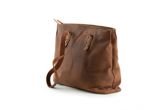 Tragetasche Twin Shopper »Antic Saddle«, natur.