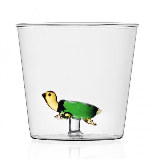 Trinkglas »Schildkröte«.