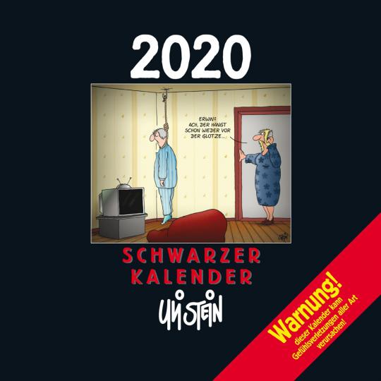Uli Stein. Schwarzer Kalender 2020.