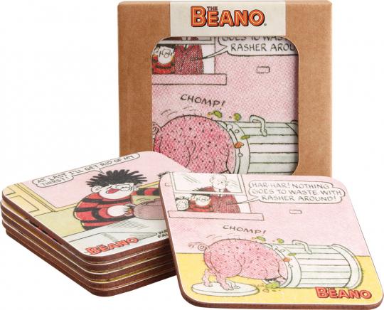 Untersetzer-Set »The Beano«.