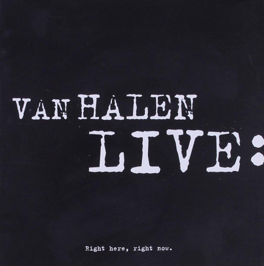 Van Halen. Right Here, Right Now - Live. 2 CDs.
