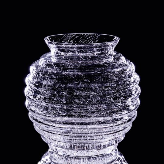 Vase »Felicitas«. Antikglasserie Martha.