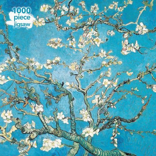 Kunstpuzzle mit 1000 Teilen. Vincent Van Gogh »Almond Blossom«.