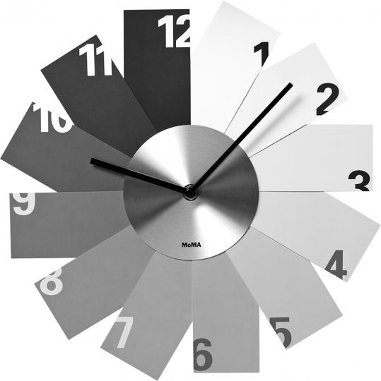Wanduhr »Monochrome Clock«.