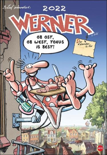 Werner Kalender 2022.