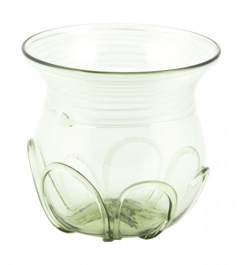 Wikinger Glas. Aus der Wikingersiedlung Birka.