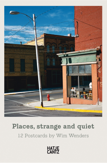 Wim Wenders. Places, strange and quiet. 12 Postkarten.