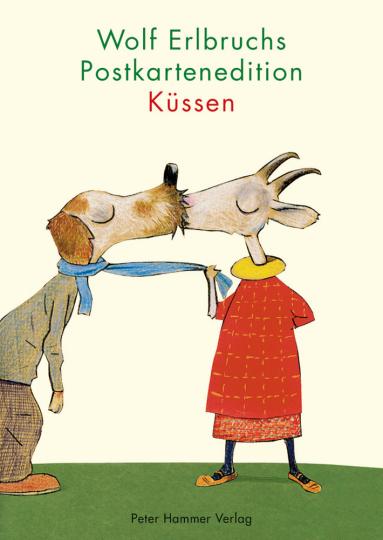 Wolf Erlbruchs Postkartenedition Küssen.