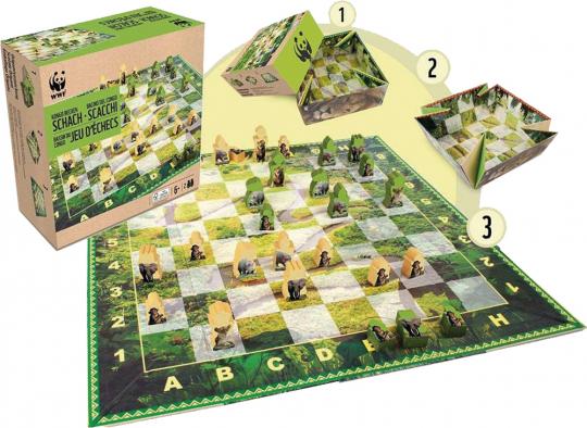 WWF Schachspiel Kongobecken.