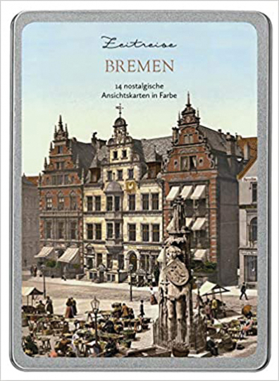Zeitreise Bremen. Postkarten-Set.