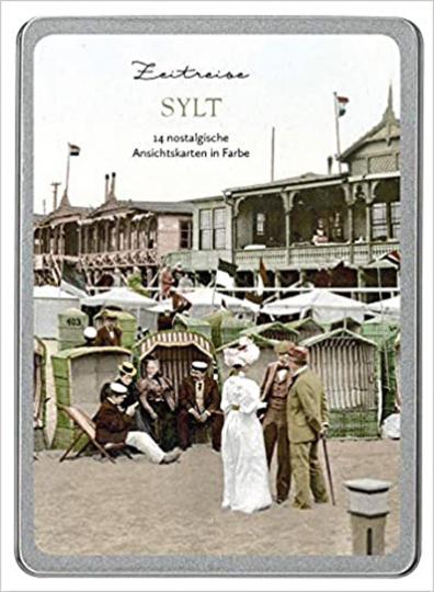 Zeitreise Sylt. Postkarten-Set.