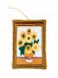 Anhänger Zarikunst »Vincent van Gogh Sonnenblumen«. Bild 1