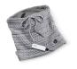Beheizbarer Schlauchschal, grau. Bild 1