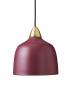 Bordeauxrote Deckenlampe von Superliving. Bild 1