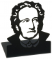 Buchstützen Goethe. 2 Stück. Bild 1