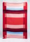 Decke »Mikkel rot«. Vom Bauhaus inspiriert. Bild 1