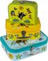 Der kleine Maulwurf. Drei Kinderkoffer mit wunderschönen Motiven. Bild 1