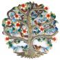 Eisen Ornament »Baum mit Vögeln und Blüten«. Bild 1