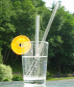 Glas Trinkhalme, 5-er Set. Bild 1