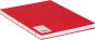 Großes Skizzenbuch mit Blanko-Seiten, rot. Koptische Bindung. Bild 1