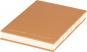 Kleines Skizzenbuch mit linierten Seiten, braun. Koptische Bindung. Bild 1