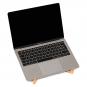 Laptophalter aus Eichenholz. Bild 1